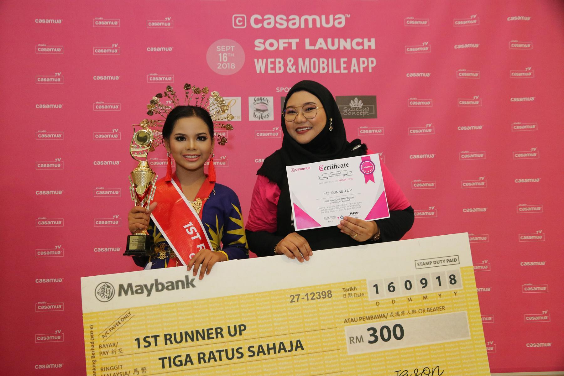 Casamua Kids Makeup Competition Hari Malaysia 2018