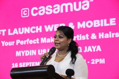 Pramilla Sandrasagran Casamua Soft Launch 2018