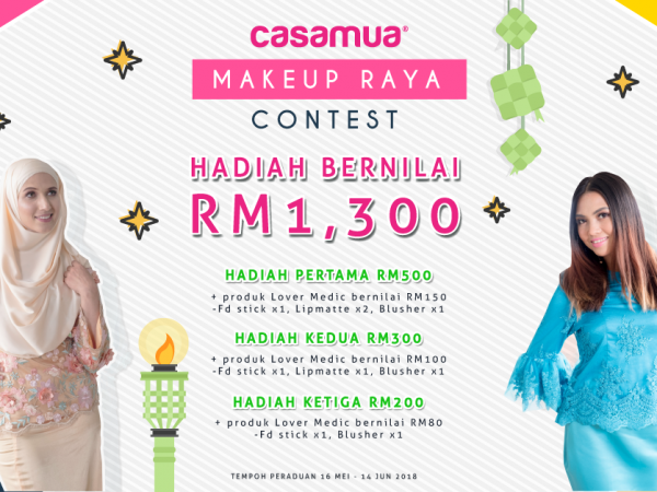 Contest Makeup Raya 2018 (Closed)