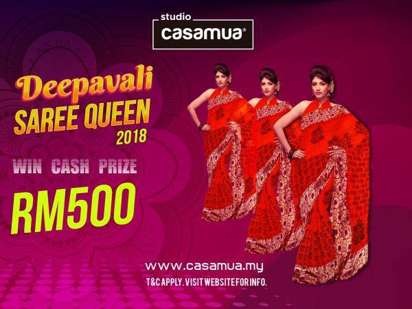 Online Deepavali Saree Queen Contest 2018
