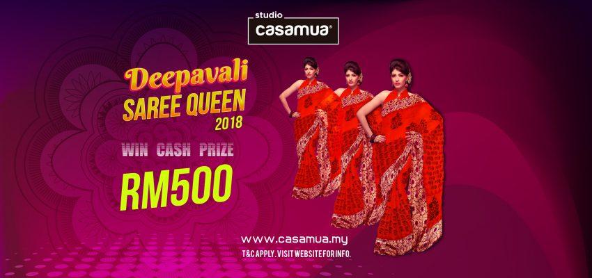 Online Deepavali Saree Queen Contest 2018