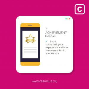 casamua pro new features achievement badge 2019