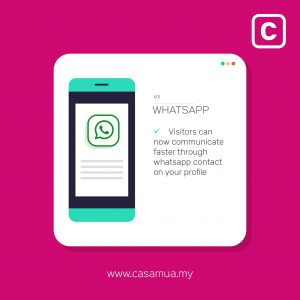 casamua pro new features Whatsapp 2019