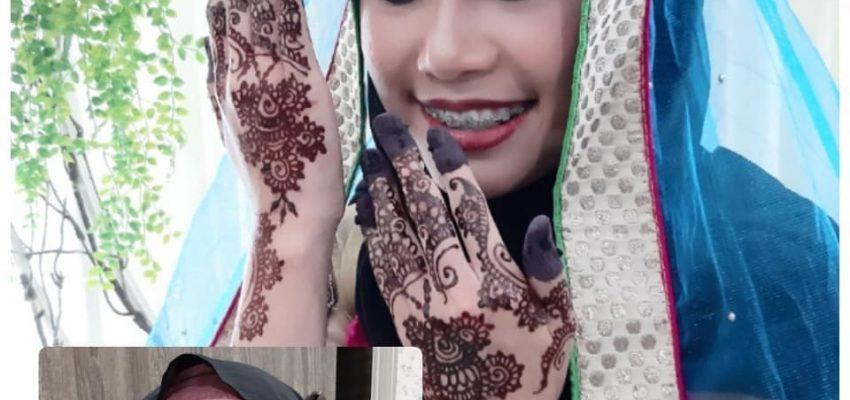 Wan Nur Atikah Bollywood Makeup and Henna